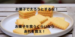【太る方法】お菓子で太るくらいなら栄養補助食品を食え!【太りたい】