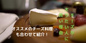 チーズで太りたい人にオススメの食べ方!料理にプラスしてとれ